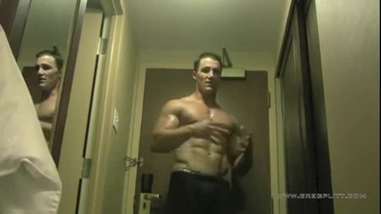 Greg Plitt - Hotel Room Workout Preview