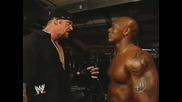 The Undertaker&orlando Jordon&john Cena Backstage Segment