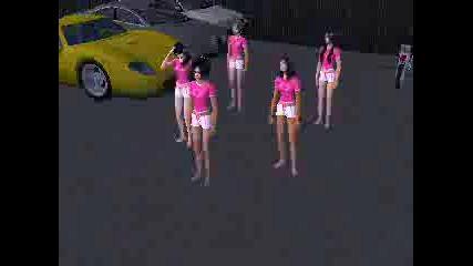 Rihanna - Shut Up And Drive(sims Version)