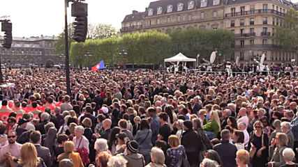 France: Tribute to honour saviours of Notre Dame Cathedral held in Paris