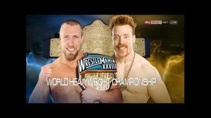 wrestlemania 28 match card