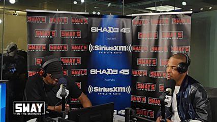 Интервю с T.i. при Sway In The Morning *май 2016*