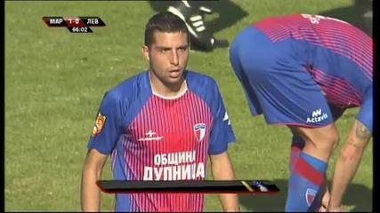 ВИДЕО: Гаджев пропусна първата дузпа за Левски