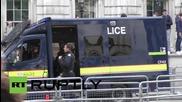Насилие в Лондон по време на протести против торите