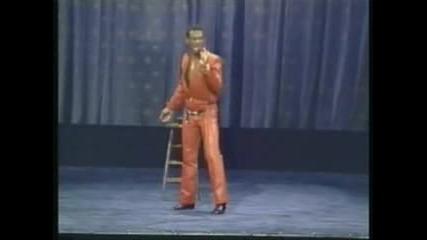 Eddie Murphy Does James Brown On Delirious