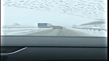 """Сняг на магистрала """"Струма"""""""