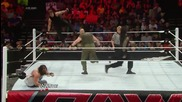 John Cena, Roman Reigns & Dean Ambrose vs. The Wyatt Family: Raw, June 9, 2014