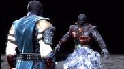 Мощна комбинация от магии, комбота и спешъл на Суб-3еро в играта Смъртоносна Битка 9 (2011)