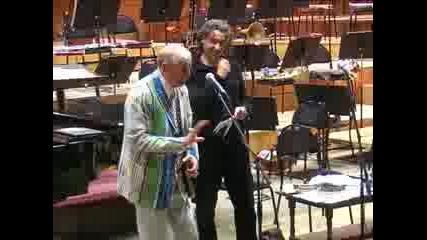 Евгений Евтушенко на гости в Пловдив