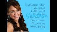 Miley Cyrus - Goodbye (karaoke Version)