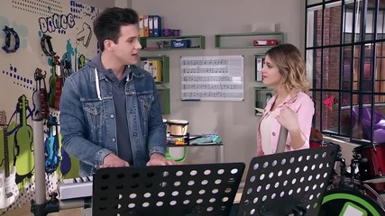Violetta 3: Alex & Violetta - Supercreativa + Превод