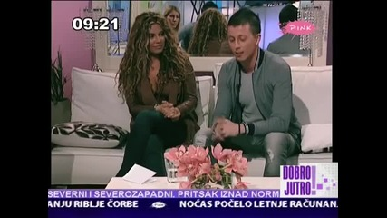 Indira Radic - Intervju - Jutrarnji program - (TV Pink 2012) (2)
