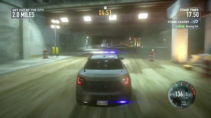 Need for Speed The Run E3 Press Conference Gameplay Demo