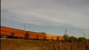 46 033 и 43 539 с товарен влак