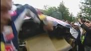 Катастрофата на Кими Райконен на Wrc Bulgaria 09.07.2010