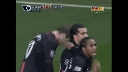 А.Вила - Манчестър Юнайтед 1 - 1 ( Рууни )