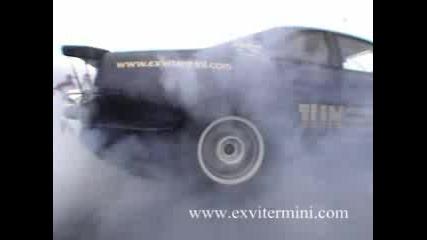Nissan Skyline Gt - R33 1360к.с. Burnout