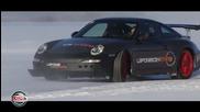 Extreme 258 Km-h Sur La Glace - Match Porsche Gt3 Rs Face A Yamaha Yzf 1000 R1
