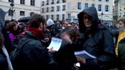 France: Nuit Debout protesters join artists occupying Paris' Odeon Theatre