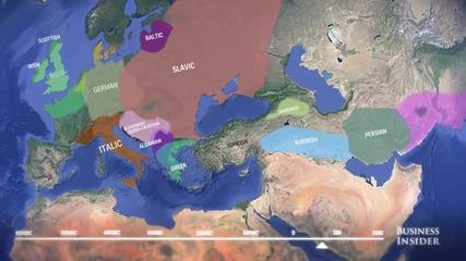 8-хилядната история на съвременните езици