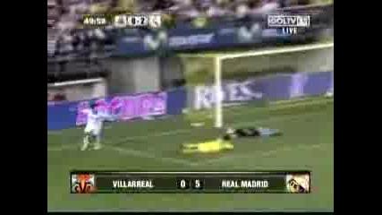 Realmadrid Villareal Goals