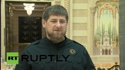 Russia: Chechen leader Kadyrov supports Russian airstrikes against IS