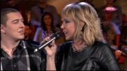 Lepa Brena & Amar - Cudna jada od Mostara grada - LIVE - Narod pita - (TV Pink 2013)
