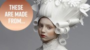 The exquisite paper wigs and gowns of Asya Kozina