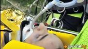 Кубица катастрофира тежко в рали в Италия