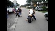 Дейв Батиста със страхотния си Мотоциклет !!!!