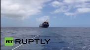 Руски кораб потъна край испанския бряг