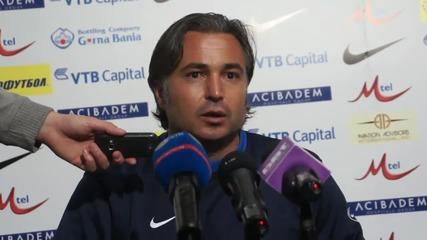 Ясен Петров: Въпреки проблемите, съумяхме да победим
