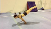 Full planche performed by a Woman!!