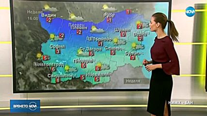 Прогноза за времето (02.12.2018 - сутрешна)