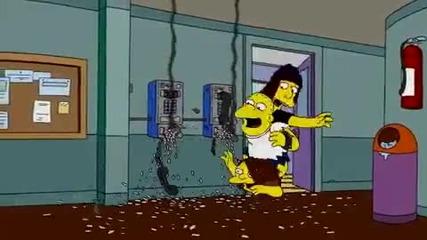 Супер Смешна Пародия - The Simpsons Ft. Ke$ha !