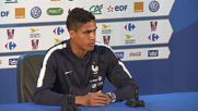 France: Varane says France to build up defence for match against Peru