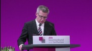 Germany: Sexual assaults 'not a totally new phenomenon in Germany' - interior minister