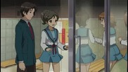 [ Bg Sub ] The Melancholy of Haruhi Suzumiya Епизод 11