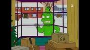 Simpsons - Crumpel - ich schlachte dich wie ne Kuh