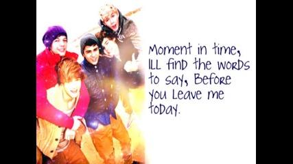 One Direction- Moments Lyrics