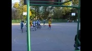 Футболният Мач Между Смг И Иег В Американския Колеж