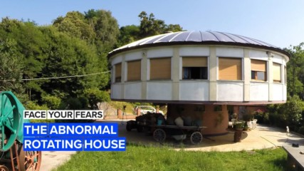 Face Your Fears: The rotating house that follows the sun
