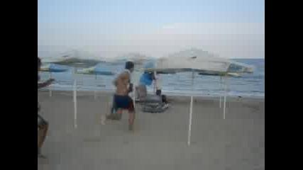 Плажно Зариване