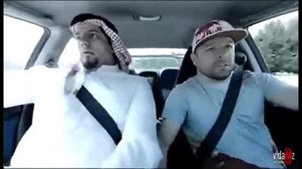 Арабин го возят в кола (смях) Vbox7