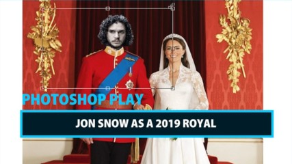 Celeb Photoshop Transformation: Jon Snow as a modern day King