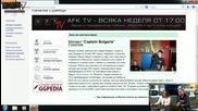 Представяне на българското гейм Wiki Ggpedia - Afk Tv Еп. 11 част 4