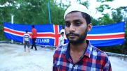 Fan from afar! World Cup fever reaches Bangladesh as man sews huge Iceland flag