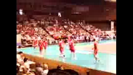 България - Япония /мач по волейбол - 26 юни 2011г., Варна (загрявка)