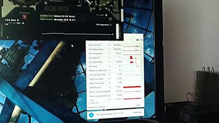 Arctic F9 Pwm Pst на видео карта rx570 vs стокови вентилатори