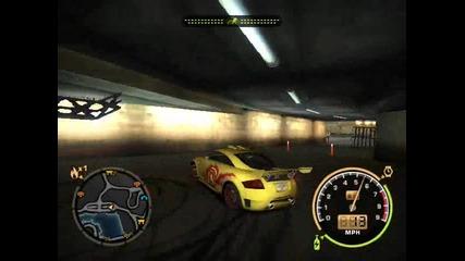 Nfs Drift s Audi tt